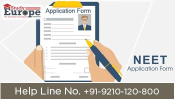 Application Form for NEET Aspirants