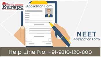 Application Form for NEET Aspirants